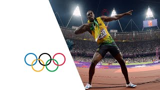Usain Bolt Wins 200m Gold - London 2012 Olympics