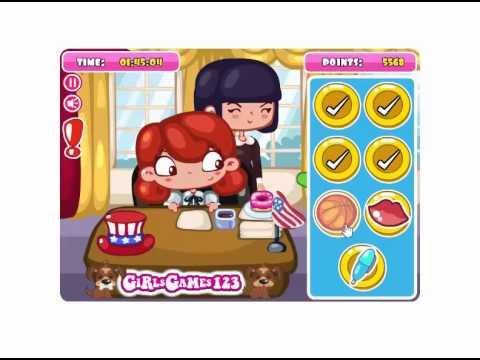 President Slacking (Girl Game)