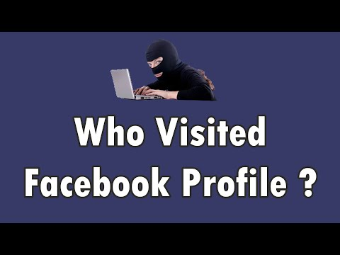 Know who visited your FACEBOOK timeline | VERY EASY