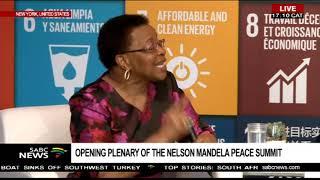 UNGA debate with  Graca Machel and Kumi Naidoo