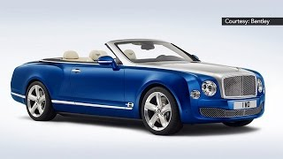 L.A. Auto Show: Bentley Convertible Raises the Roof on Luxury