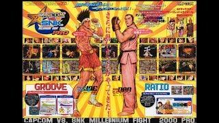 Arcade longplay - Capcom vs SNK PRO - MILLENIUM FIGHT 2000