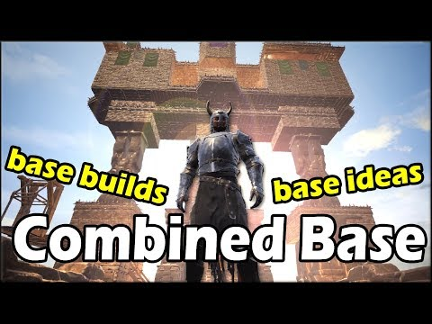 Best Base In Conan Exiles Black Ice Fortress Doovi