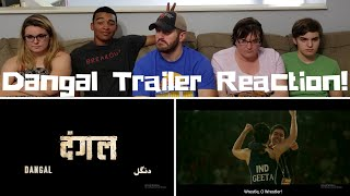 Dangal / Aamir Khan / Trailer Reaction!