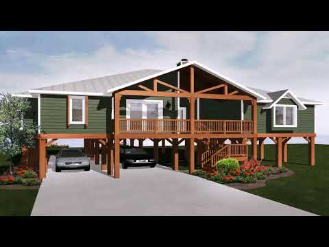 House Plans For Houses On Stilts