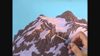 Видео 5 части 13, как рисовать горы и озеро с акрилом(Как рисовать горы и озеро с акрилом на холсте. В этом видео я объяснить каждый шаг живопись процесс скалы,..., 2011-08-27T10:43:42.000Z)