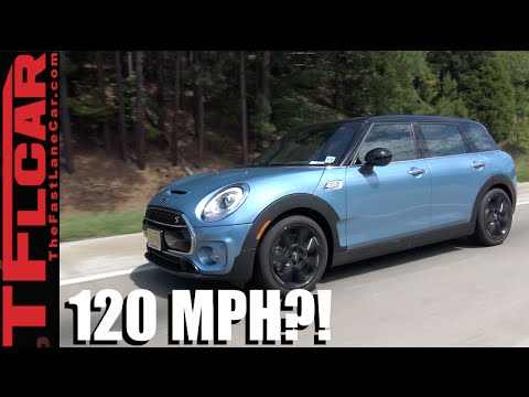 Driving A 2016 Mini Clubman At 120 Mph Mini Takes The States Day 1