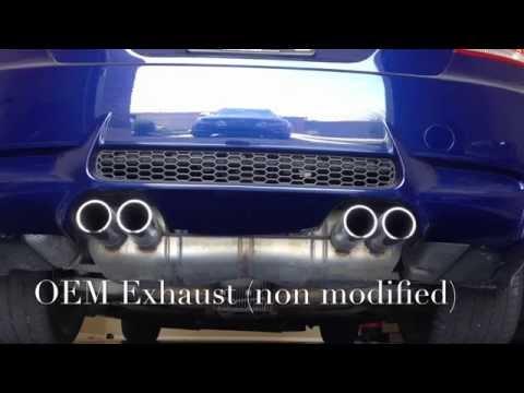 BMW M3 E92 OEM exhaust mod (E90, E93) How to DIY - Лучшие