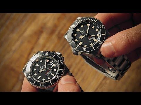 Rolex Sea-Dweller vs Tudor Pelagos | Watchfinder & Co.
