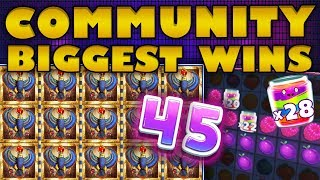 Community Biggest Wins #45 / 2018
