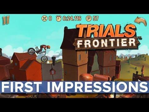 Trials Frontier - Eurogamer Preview