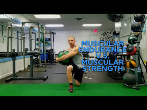 The Difference Between Muscular Endurance And Muscular Strength