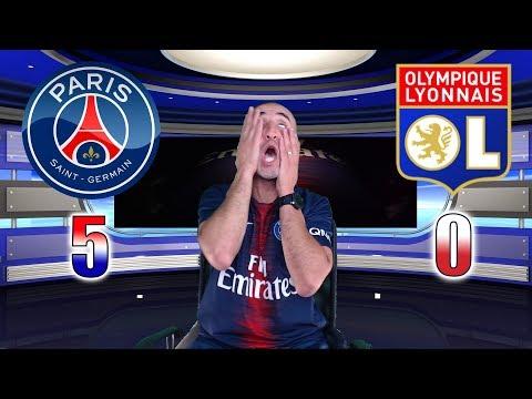 PARIS SG 5-0 LYON - LE MASSACRE - Azéd Stories