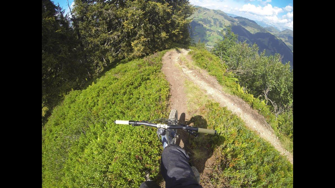 2016 Bikepark Saalbach Hinterglemm Bergstadl Trail With