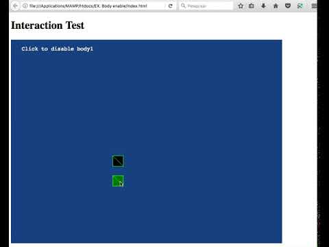 Interaction Test Phaser Example Body Enable Youtube