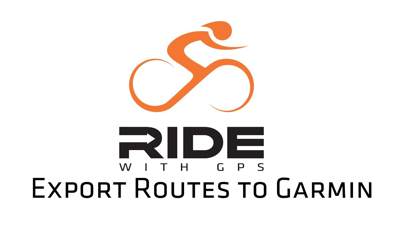 Export Routes to Garmin Devices