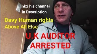 HELP UK AUDITOR ARRESTED, (everyone in the UK pls call DUMFRIES POLICE DEPT & complain) pls mirror