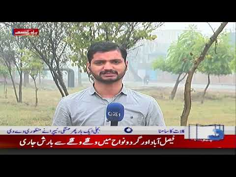 Faisalabad Weather Update | Rain In Faisalabad | City 41