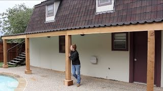 Building a Covered Patio - Part 2