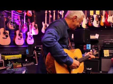 Tommy Emmanuel performs at GH Music Flemington Melbourne Part 1