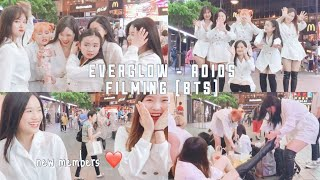 Download lagu [YES DIARY] EVERGLOW - ADIOS (BTS) ft annoying members kept dancing to ITZY's ICY  | SEASON 2 EP.3