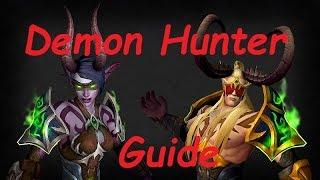 Гайд по ДХ(Demon Hunter - Охотник на Демонов) WoW Legion : Мысли о классе