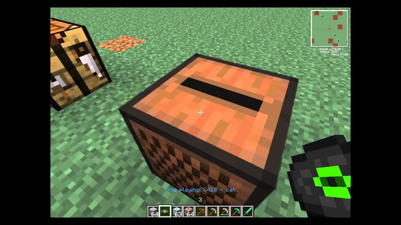 Minecraft como hacer un caja de musica youtube for Como hacer muebles en minecraft