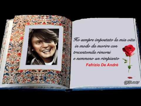 Fabrizio De André - Il testamento (con testo)