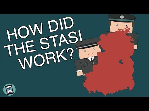 What Did The Stasi Do? (Short Animated Documentary)