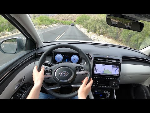 2022 Hyundai Tucson Hybrid Limited - POV First Drive (Binaural Audio)