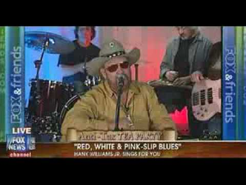 Hank Williams Jr:Red White & Pink Slip Blues#*LIVE PREFORMENCE*#