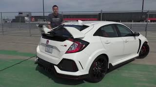 Honda Civic Type R 2017 года - не король горячих хэтчбеков ОБЗОР (Doug DeMuro на русском)