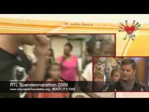 Ricky Martin Foundation - RTL donation-marathon