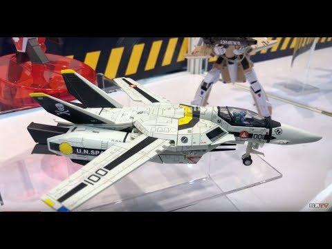 TOYSTV @ Toy Soul 亞洲玩具展 2018 Kitzconcept Robotech Macross Saga 1/72 Valkyrie Series