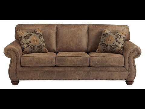 Ashley Furniture Signature Design Larkinhurst Sofa Contemporary Style Couch Earth