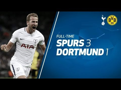 Tottenham vs Borussia Dortmund 3-1 - All Goals & Extended Highlights - 13/09/2017 - HD