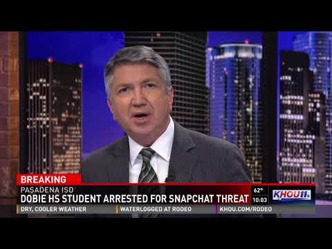 Dobie High School student arrested for Snapchat threat