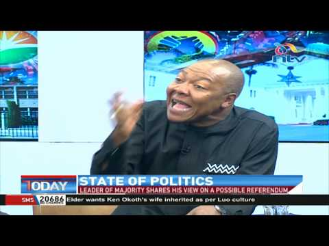 It Is Surprising To See Aden Duale Supporting Uhuru, Raila-backed BBI - Bichachi || NTV Today