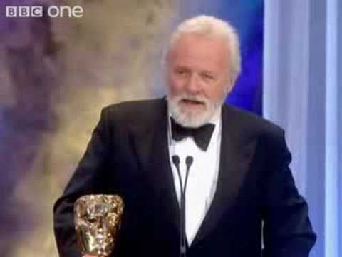 BAFTA 2008- Sir Antony Hopkins Honoured award