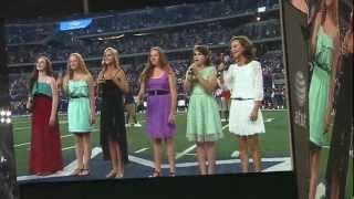 National Anthem at Cowboy Stadium