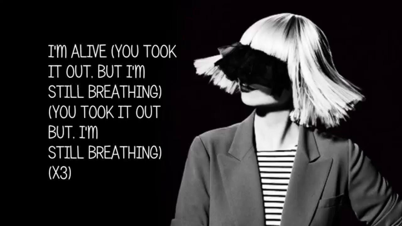 Sia - Alive - FULL HD LYRICS (New Song 2015)
