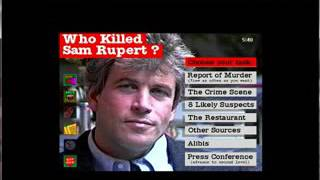 Virtual Murder: Who Killed Sam Rupert? (1/2)