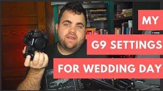 Panasonic Lumix G9 Wedding Photography Settings