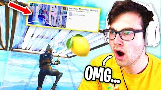 REACTING to Fortnite Montages with ZERO VIEWS... (underrated)
