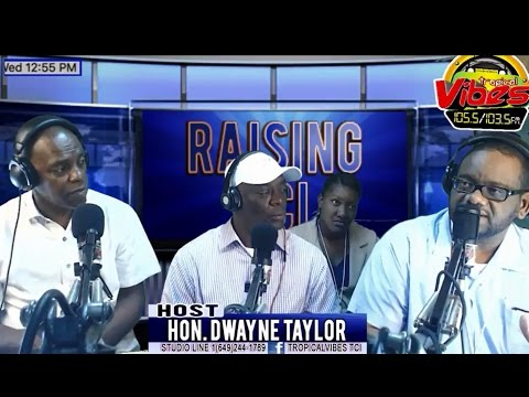 TCI Integrity Commission Public Education on Political Activities on Tropical Vibes radio talk show