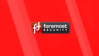 Foremost Security - Advert 2017