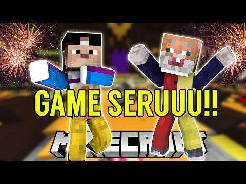 PERMAINAN MINECRAFT PALING SERUU - PARTY GAME