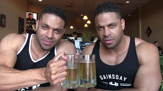 Eating Sushi & Drinking Sapporo Beer For The First Time @hodgetwins