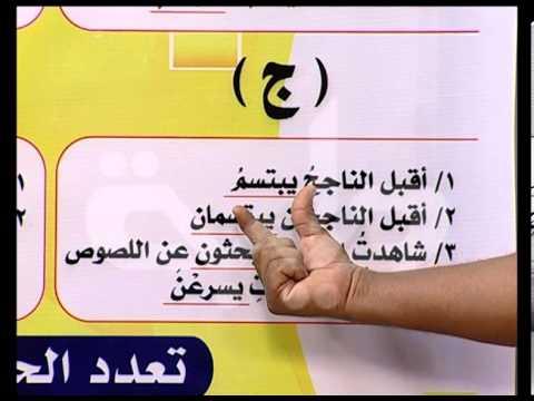 قناة طيبة الفضائية-اللغة العربية-مرحلة الأساس-الحال-ح1