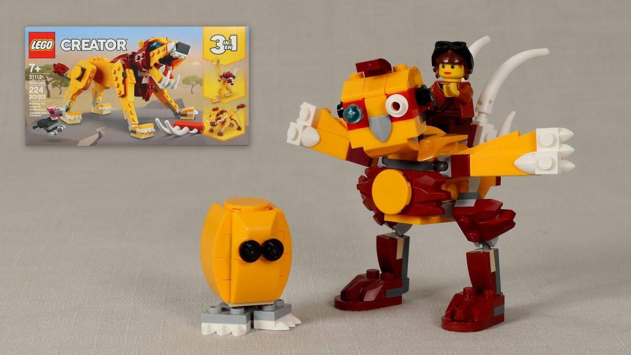 Mecha Chicken - LEGO 31112 Alternate Build Tutorial